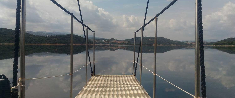 Battello Castor Lago Flumendosa