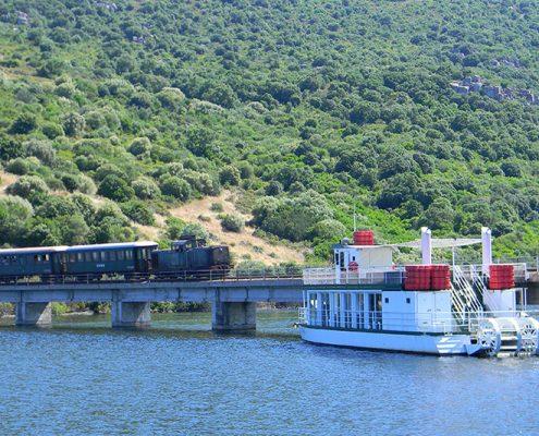 I battelli Castor e Pollux in navigazione sul lago